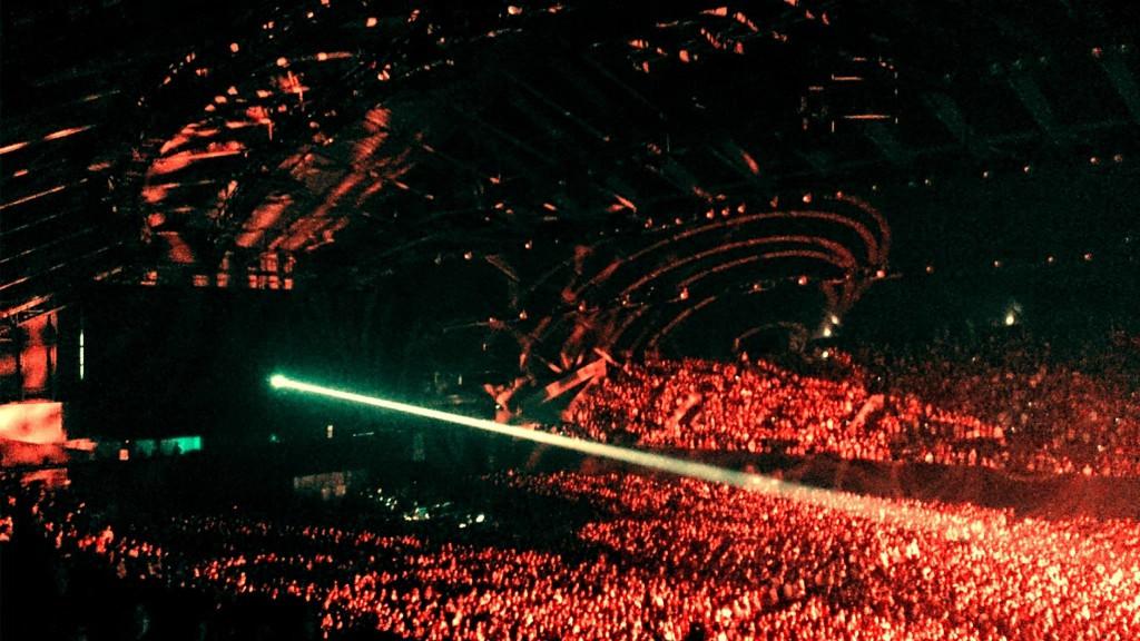 The crowd at Miyagi Sekisui Heim Super Arena
