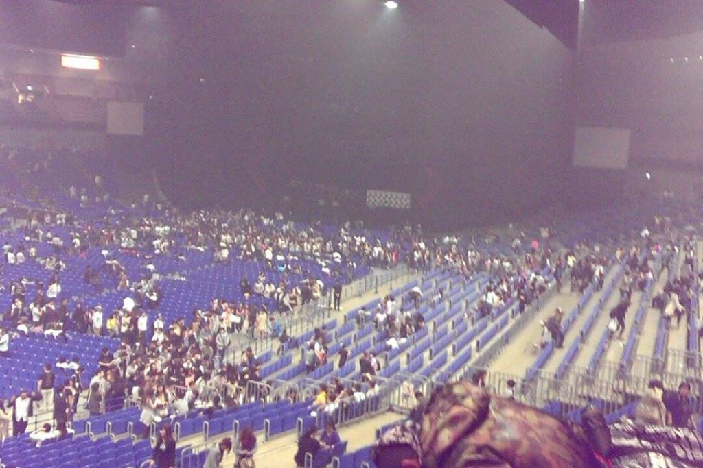 Inside Yokohama Arena