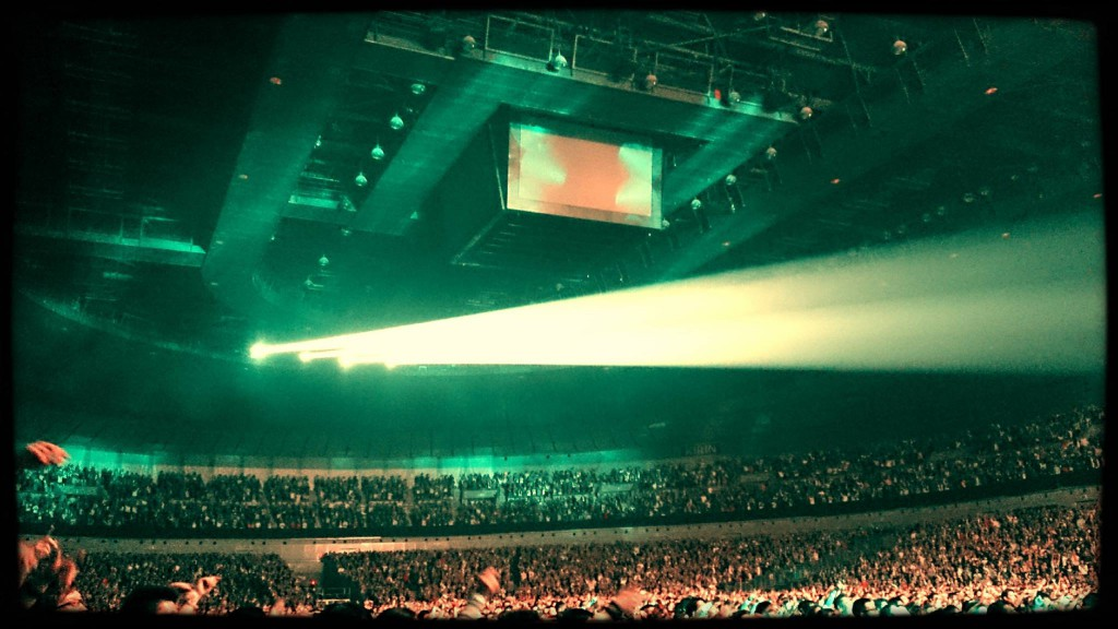 The crowd at Yokohama Arena